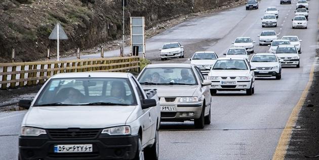 افزایش 2 درصدی تردد در جادههای همدان