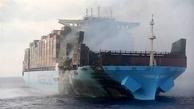 Fire-Ravaged Maersk Honam Reaches Gulf of Oman
