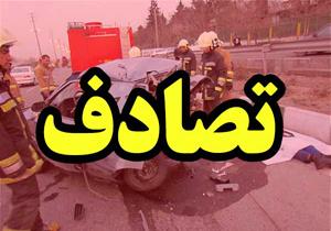۲ کشته و زخمی در تصادف محور سوادکوه