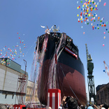 Kawasaki Heavy Splashes Wisdom's New Bulker