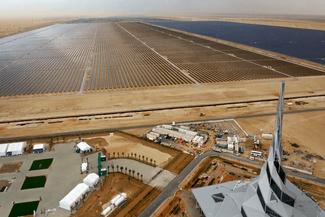 تصاویر حیرتانگیز از بزرگترین پارک انرژی خورشیدی دنیا در دبی