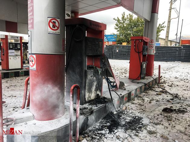 رایزنی با بیمهها برای پرداخت خسارت جایگاههای سوخت
