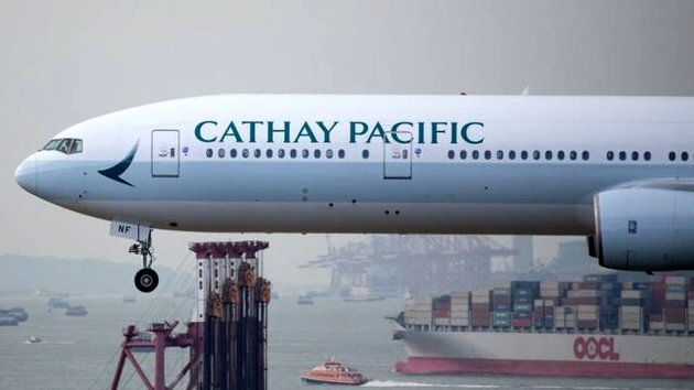 بزرگترین ایرلاین هنگکنگ: پروازهای مسافری به صفر رسیده است!