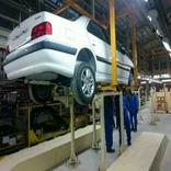 کارخانه ایران خودرو صحنه به تولید انبوه رسید